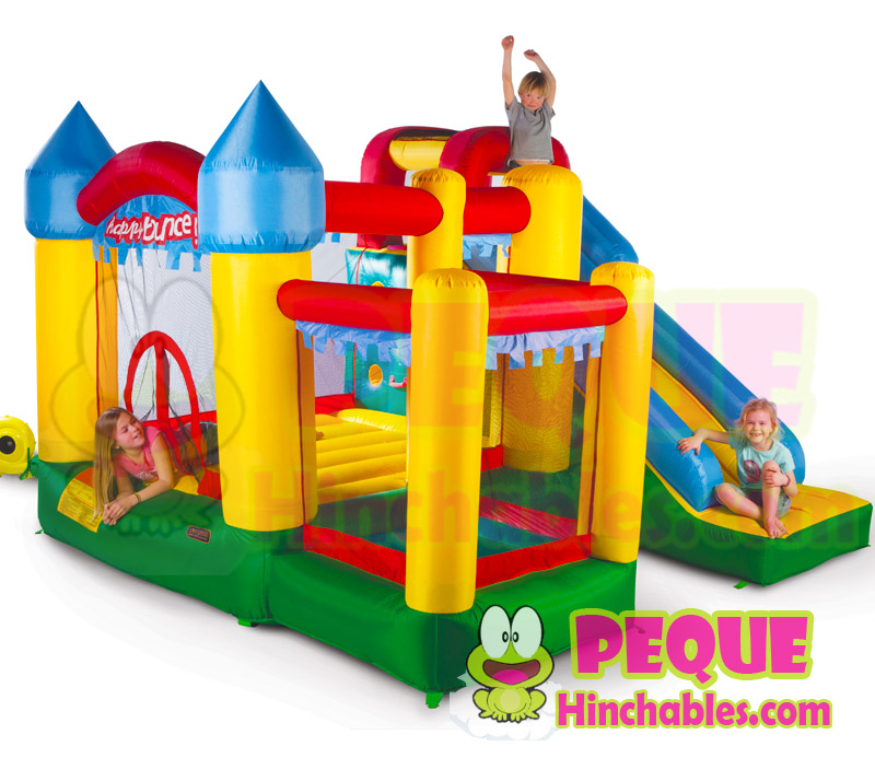 Castillo hinchable fun palace 6 en 1 castillos hinchables for Piscinas hinchables carrefour precios