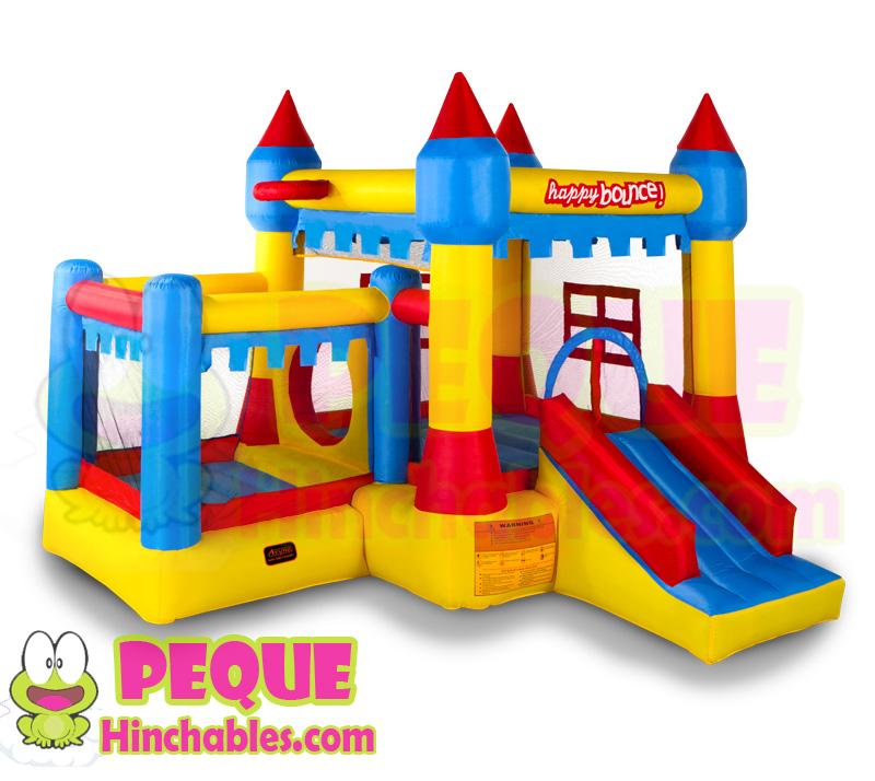 Mini castillo hinchable 5 en 1 mini castillos hinchables for Piscinas hinchables carrefour precios