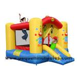 Castillo Hinchable clown slide