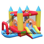 Mini Castillo Hinchable Play Center