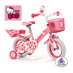 Bicicleta Infantil Hello Kitty 12