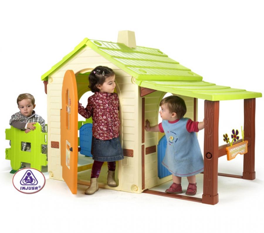Casita infantil country house for Casita exterior infantil