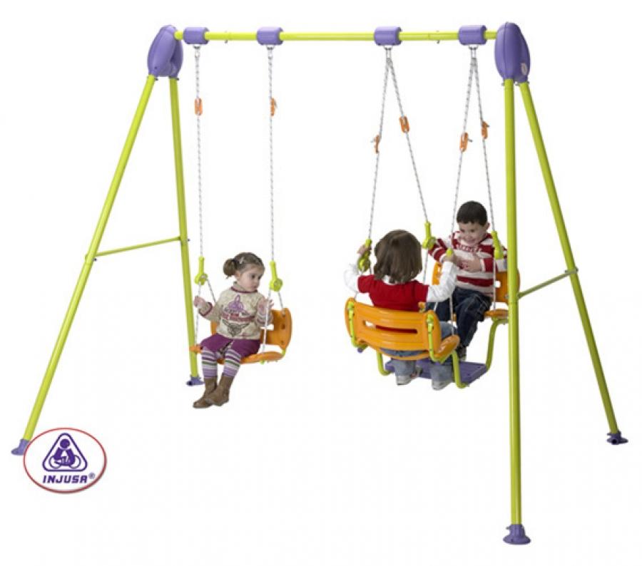 Columpio 2 actividades silla g ndola for Columpios infantiles