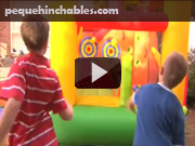 castillos hinchables videos